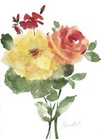 Roses Bogonvilia 1 Fine-Art Print