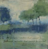Wonders Verse Fine-Art Print