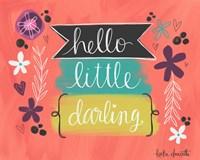 Hello Little Darling Fine-Art Print