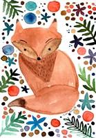 Watercolor Fox Fine-Art Print
