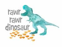 Rawr Rawr Dinosaur Fine-Art Print
