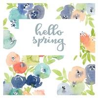 Hello Spring Florals Fine-Art Print