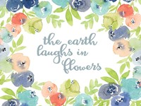 The Earth Laughs in Flowers Fine-Art Print