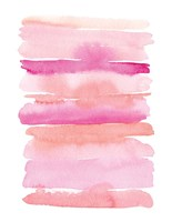 Abstract Pink Stripes Fine-Art Print