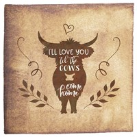 Til the Cows Come Home Fine-Art Print