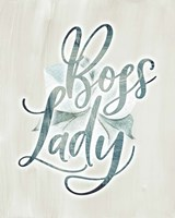 Boss Lady Floral Fine-Art Print