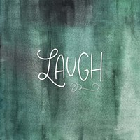 Laugh Green Fine-Art Print