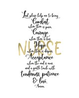 Nurse Prayer Fine-Art Print