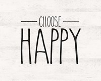 Choose Happy Fine-Art Print