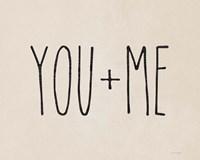 You + Me Fine-Art Print