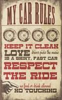 My Car Rules Fine-Art Print