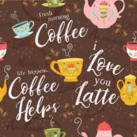 I Love You a Latte III Fine-Art Print