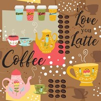 I Love You a Latte IV Fine-Art Print