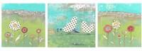 Polka Dot Bird Set Fine-Art Print