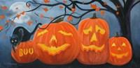 Halloween Pumpkins Fine-Art Print