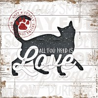 All You Need is Love - Cat Fine-Art Print