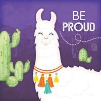 Be Proud Llama Fine-Art Print
