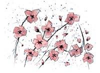 Pink Flowers I Fine-Art Print