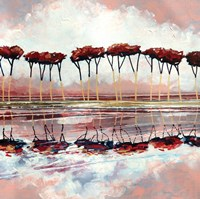 Pink Trees II Fine-Art Print