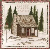 Moose Creek Cabin Fine-Art Print