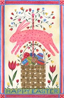 Happy Easter Pink Fine-Art Print