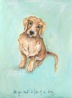 Love and a Dog Fine-Art Print