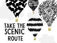 Scenic Route Fine-Art Print