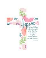 Hope Cross Proverb II Fine-Art Print
