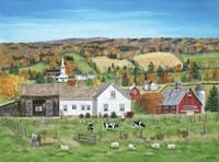 Autumn Fields Fine-Art Print