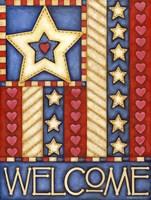 American Star Welcome Fine-Art Print