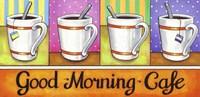 Good Morning Cafe Fine-Art Print