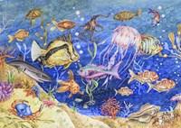 Underwater Menagerie Fine-Art Print