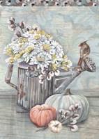 Farmhouse Fall Welcome Fine-Art Print