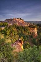 Sunrise Over Roussillon - Vertical Fine-Art Print