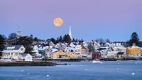 Coastal Moon Fine-Art Print