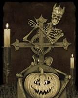 Halloween Graveyard - A Fine-Art Print