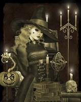 Halloween Graveyard - E Fine-Art Print