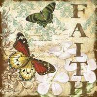 Inspirational Butterflies - Faith Fine-Art Print