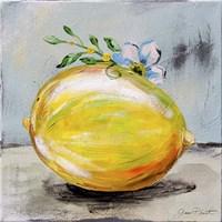 Abstract Kitchen Fruit 1 Fine-Art Print