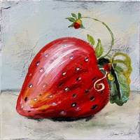 Abstract Kitchen Fruit 2 Fine-Art Print