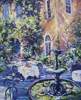 New Orleans Courtyard Fine-Art Print
