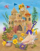 Beach Castle Fine-Art Print