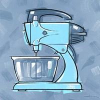 Blue On Blue Mixer Fine-Art Print