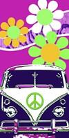 VW Fuscia Fine-Art Print