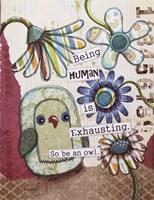 Being Human Fine-Art Print