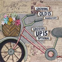 Bike Growing Old Fine-Art Print