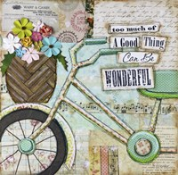 Bike Too Wonderful Fine-Art Print