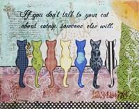 Cat Talk Fine-Art Print