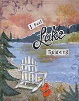 Lake Relaxing Fine-Art Print