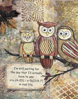 Wise Owls Fine-Art Print